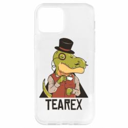 Чохол для iPhone 12 Pro Dinosaur with tea