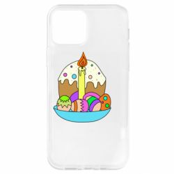 Чохол для iPhone 12 Pro Easter cake and eggs