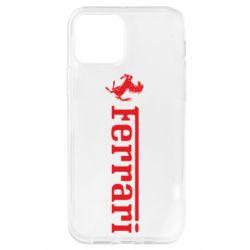 Чехол для iPhone 12 Pro Ferrari