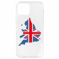 Чехол для iPhone 12 Pro Флаг Англии