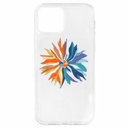 Чохол для iPhone 12 Pro Flower coat of arms of Ukraine