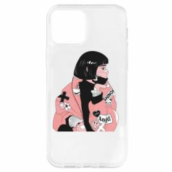 Чохол для iPhone 12 Pro Girl with a square
