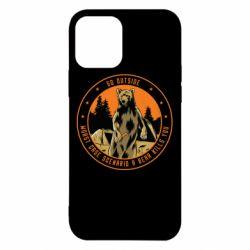 Чохол для iPhone 12 Pro Go outside worst case scenario a bear kills you