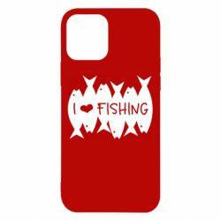 Чохол для iPhone 12 Pro I Love Fishing