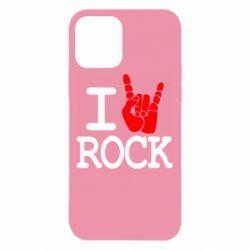 Чехол для iPhone 12 Pro I love rock