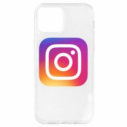 Чохол для iPhone 12 Pro Instagram Logo Gradient