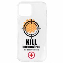 Чохол для iPhone 12 Pro Kill coronavirus the doctor will help