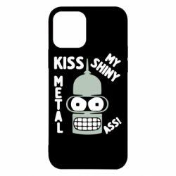 Чехол для iPhone 12 Pro Kiss metal