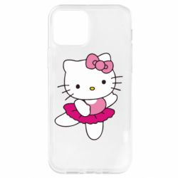 Чехол для iPhone 12 Pro Kitty балярина