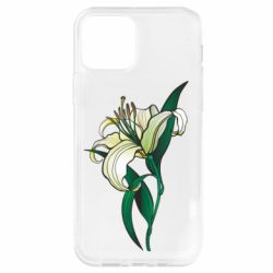 Чохол для iPhone 12 Pro Lily flower