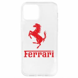 Чохол для iPhone 12 Pro логотип Ferrari