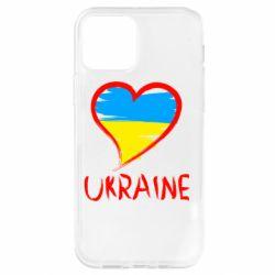 Чехол для iPhone 12 Pro Love Ukraine
