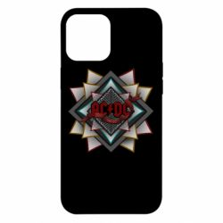Чехол для iPhone 12 Pro Max AC/DC Art Logo