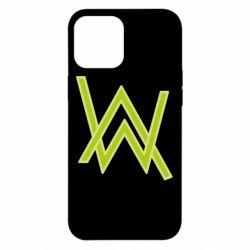 Чехол для iPhone 12 Pro Max Alan Walker neon logo