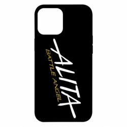 Чохол для iPhone 12 Pro Max Alita battle angel logo