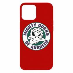 Чехол для iPhone 12 Pro Max Anaheim Mighty Ducks Logo