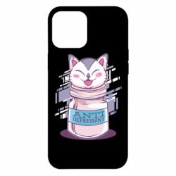 Чехол для iPhone 12 Pro Max AntiDepressant Cat
