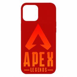 Чохол для iPhone 12 Pro Max Apex legends gradient logo