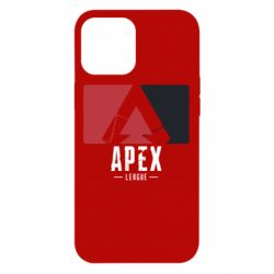 Чехол для iPhone 12 Pro Max Apex red-black