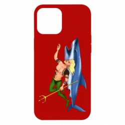Чехол для iPhone 12 Pro Max Aquaman with a shark