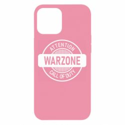 Чехол для iPhone 12 Pro Max Attention Warzone
