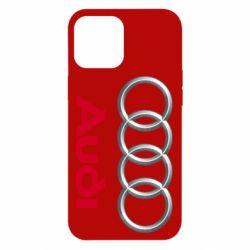 Чохол для iPhone 12 Pro Max Audi 3D Logo