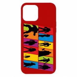 Чохол для iPhone 12 Pro Max Avengers silhouette