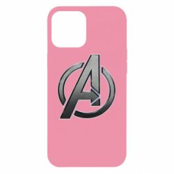 Чохол для iPhone 12 Pro Max Avengers Steel Logo
