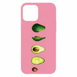 Чехол для iPhone 12 Pro Max Avocado set