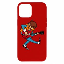 Чехол для iPhone 12 Pro Max Back to the Future Marty McFly
