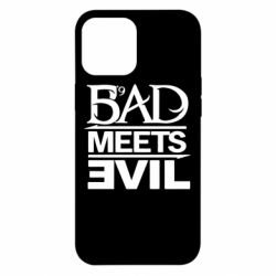 Чехол для iPhone 12 Pro Max Bad Meets Evil