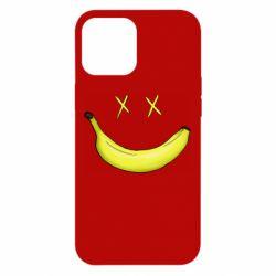 Чехол для iPhone 12 Pro Max Banana smile