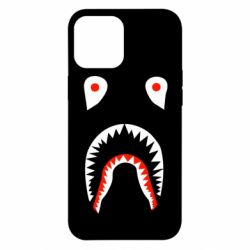 Чехол для iPhone 12 Pro Max Bape shark logo