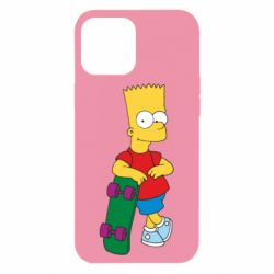 Чохол для iPhone 12 Pro Max Bart Simpson