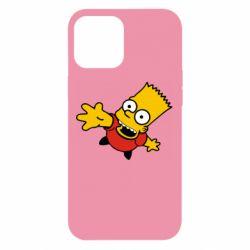 Чехол для iPhone 12 Pro Max Барт Симпсон