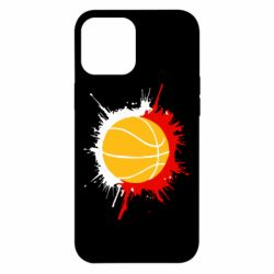 Чехол для iPhone 12 Pro Max Баскетбольный мяч