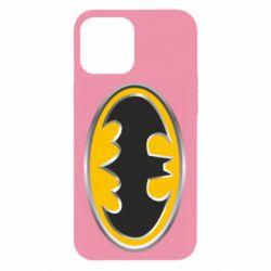 Чехол для iPhone 12 Pro Max Batman Gold Logo
