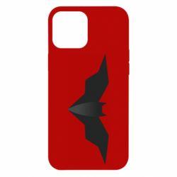 Чехол для iPhone 12 Pro Max Batman unusual logo