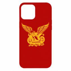 Чехол для iPhone 12 Pro Max Байк с крыльями