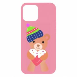 Чехол для iPhone 12 Pro Max Bear and gingerbread
