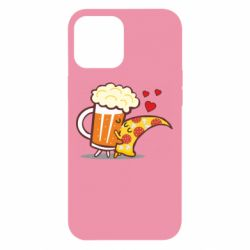 Чохол для iPhone 12 Pro Max Beer and Pizza were kissed