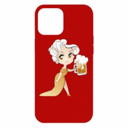Чохол для iPhone 12 Pro Max Beer girl