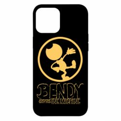 Чехол для iPhone 12 Pro Max Bendy and the Ink Machine text