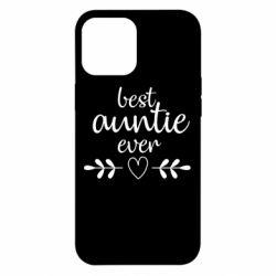 Чохол для iPhone 12 Pro Max Best auntie ever