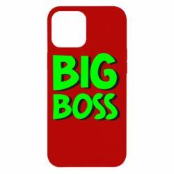 Чехол для iPhone 12 Pro Max Big Boss