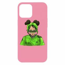 Чохол для iPhone 12 Pro Max Billie Eilish green style