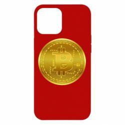 Чохол для iPhone 12 Pro Max Bitcoin coin