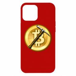 Чохол для iPhone 12 Pro Max Bitcoin Hammer