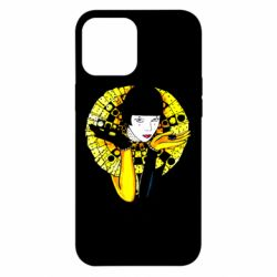 Чехол для iPhone 12 Pro Max Black and yellow clown