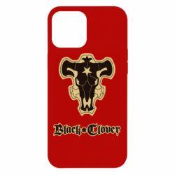 Чехол для iPhone 12 Pro Max Black clover logo